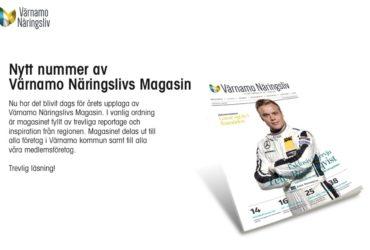 Snart är det här! 2016/2017 års magasin från Värnamo Näringsliv.