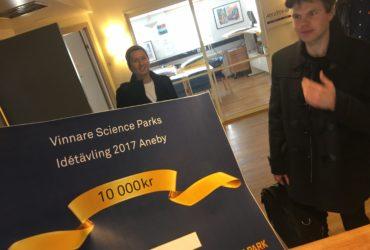 Science Park anordnade idétävling