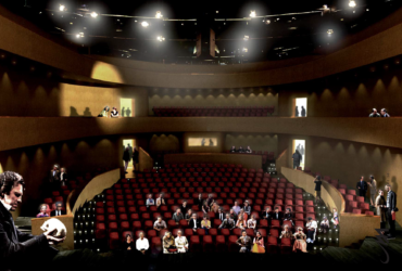 Invigning av Auditoriet, den sista delen av Gummifabriken!