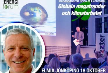 Plusenergiforum – Megatrendernas påverkan på klimat- och hållbarhetsarbetet