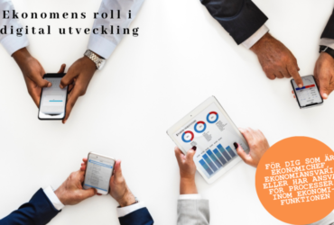 Utbildning – Ekonomens roll i digital utveckling start 23 april