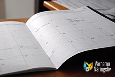 Uppdaterad kalender